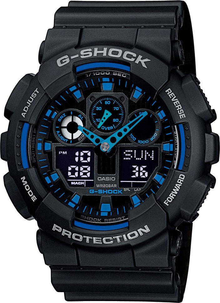 Casio G-Shock Original GA-100-1A2ER  a7d00c4587