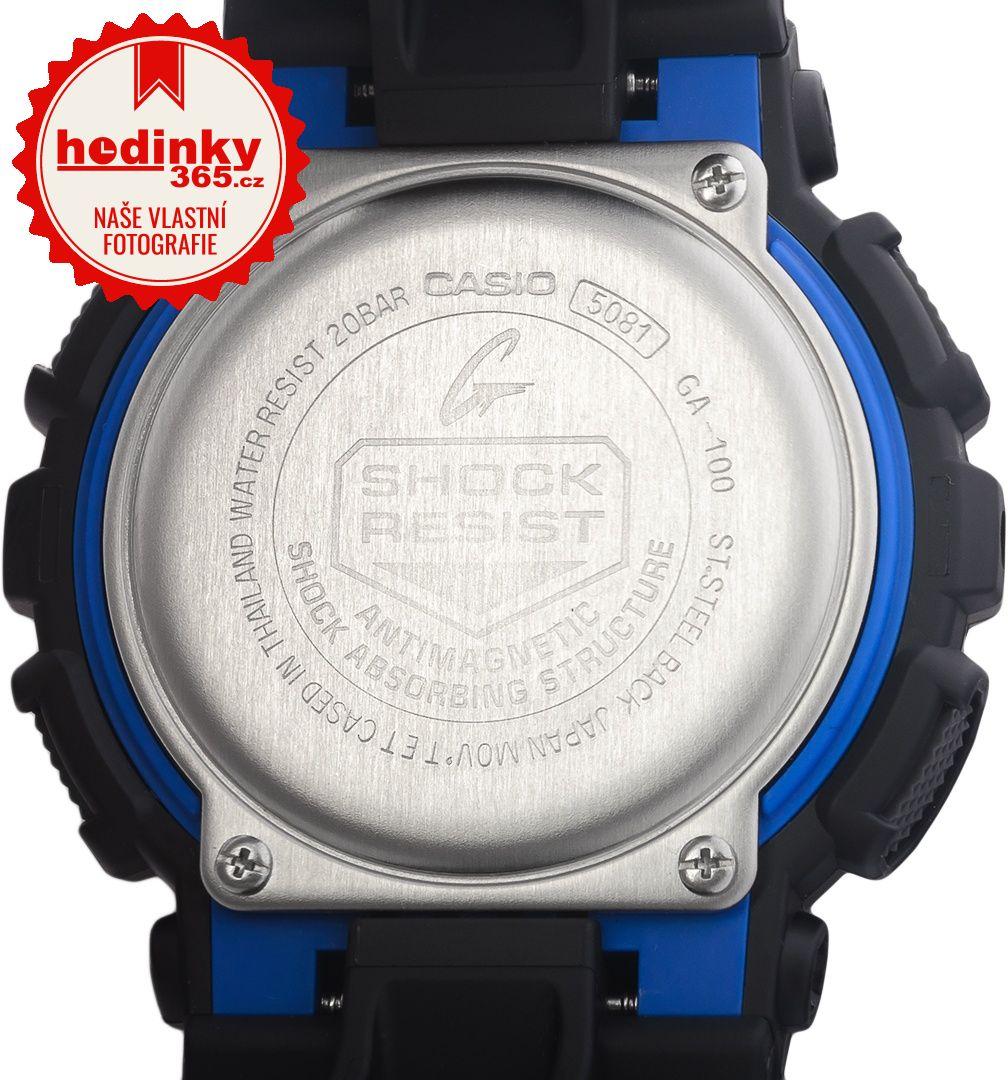 Hodinky Casio G-Shock Original GA-100-1A2ER 664be8086d1