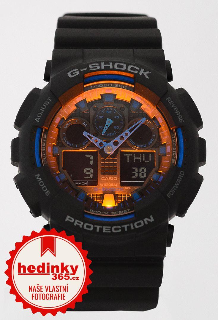 93755dd37c3 Casio G-Shock Original GA-100-1A2ER