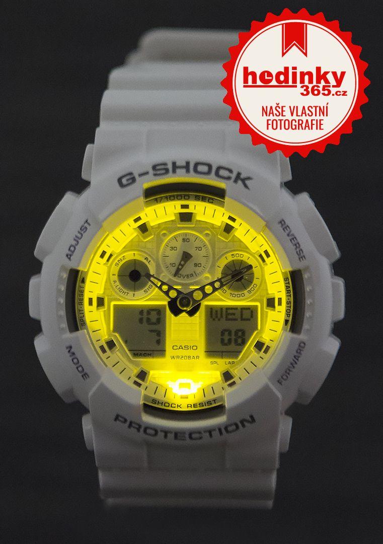 Casio G-Shock Original GA-100A-7AER  cbe64ffc7b