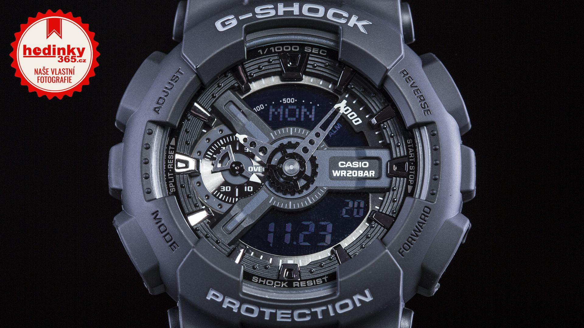5e1dbcc75 Casio G-Shock Original GA-110-1BER | Hodinky-365.cz