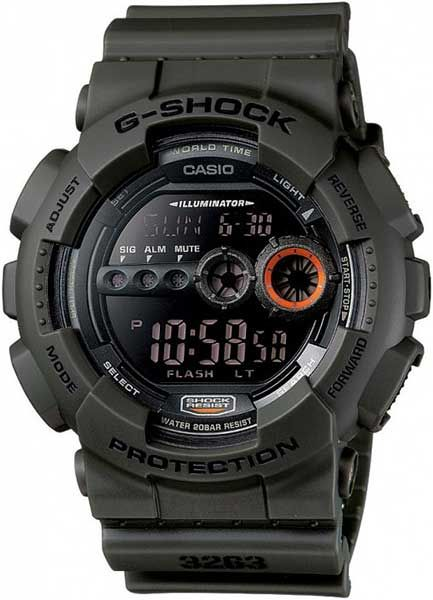 Casio G-Shock G-Classic GD-100MS-3ER
