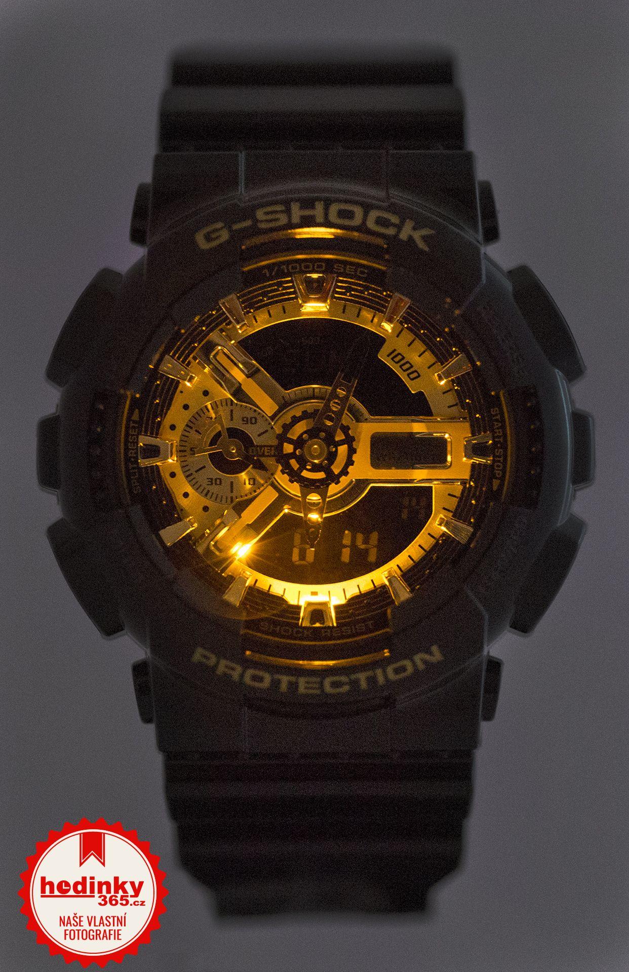 Casio G-Shock Original GA-110GB-1AER Black   Gold Special Edition.  Hodnocení  4 be92e403411