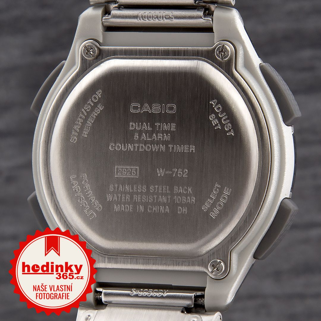 Casio Collection W-752D-1AVES. Hodnocení  4 18f852611d