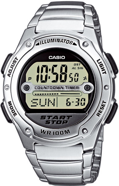 Casio Collection W-756D-7AVES