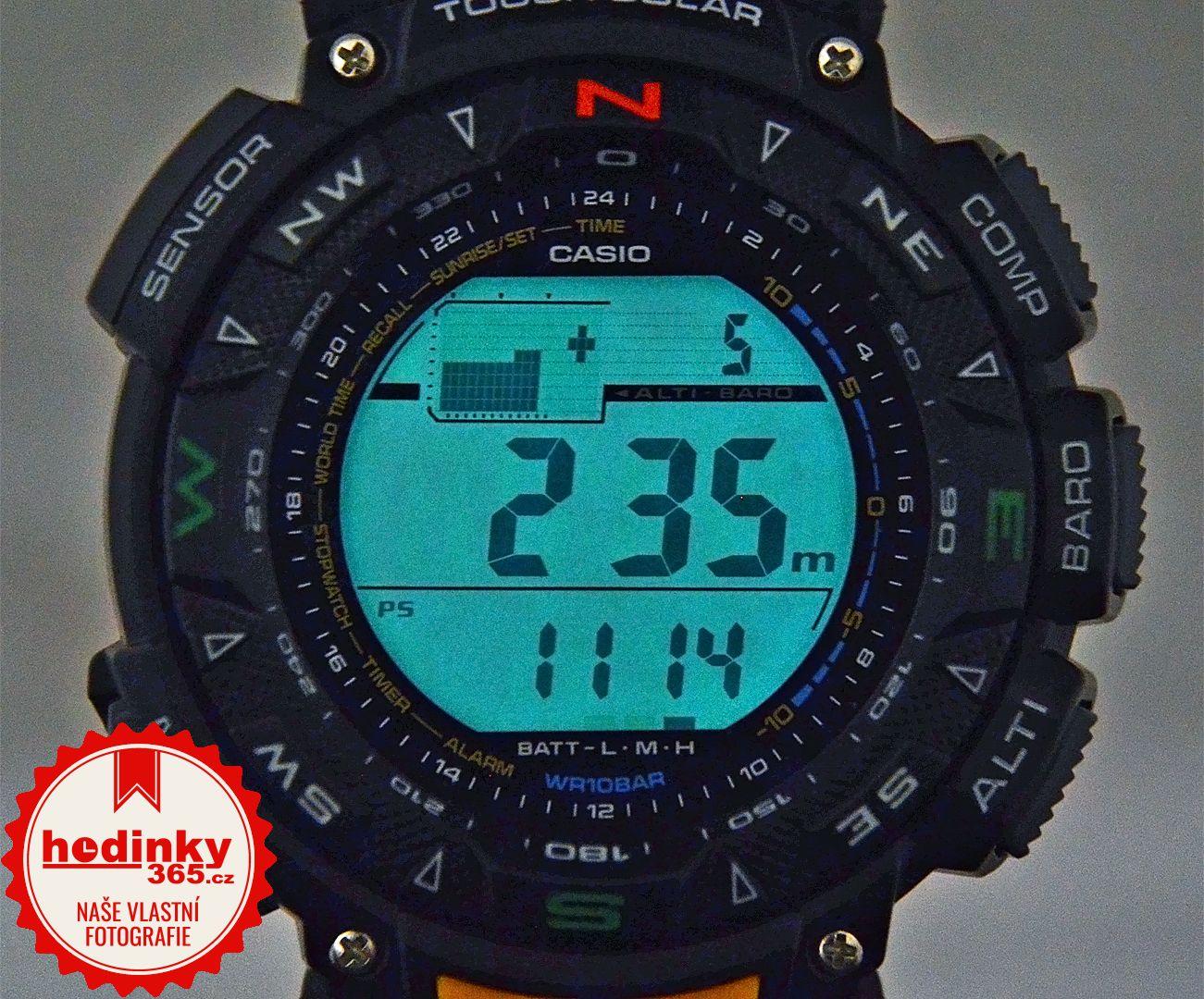 Casio Protrek PRG-240-1ER. Hodnocení  4 eff13e80846