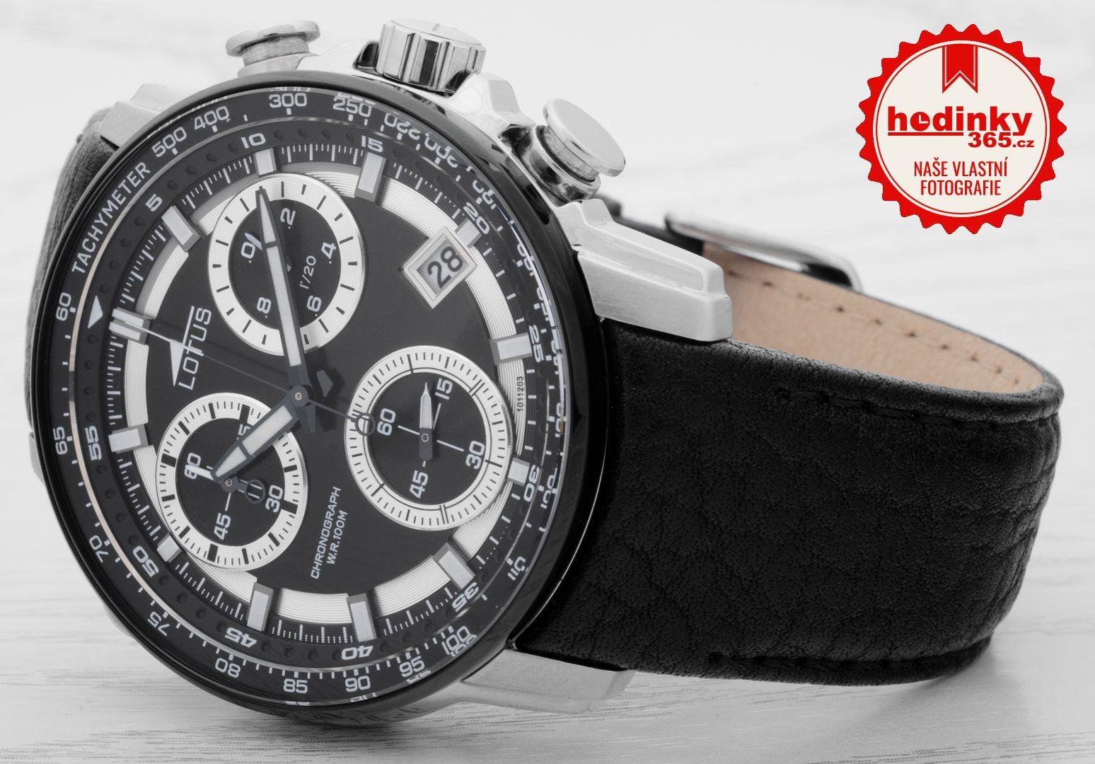 3c1e15ca3 Lotus L10112/3. Pánské hodinky - kožený řemínek, ocel pouzdro, minerální  sklíčko. Veškeré technické parametry naleznete níže