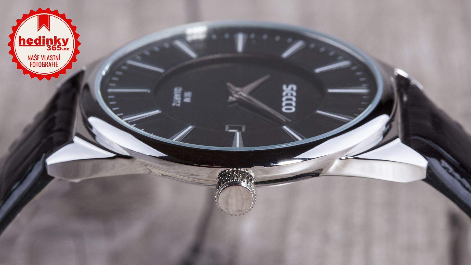 f5fbaba2fb Dámské hodinky - koženkový řemínek