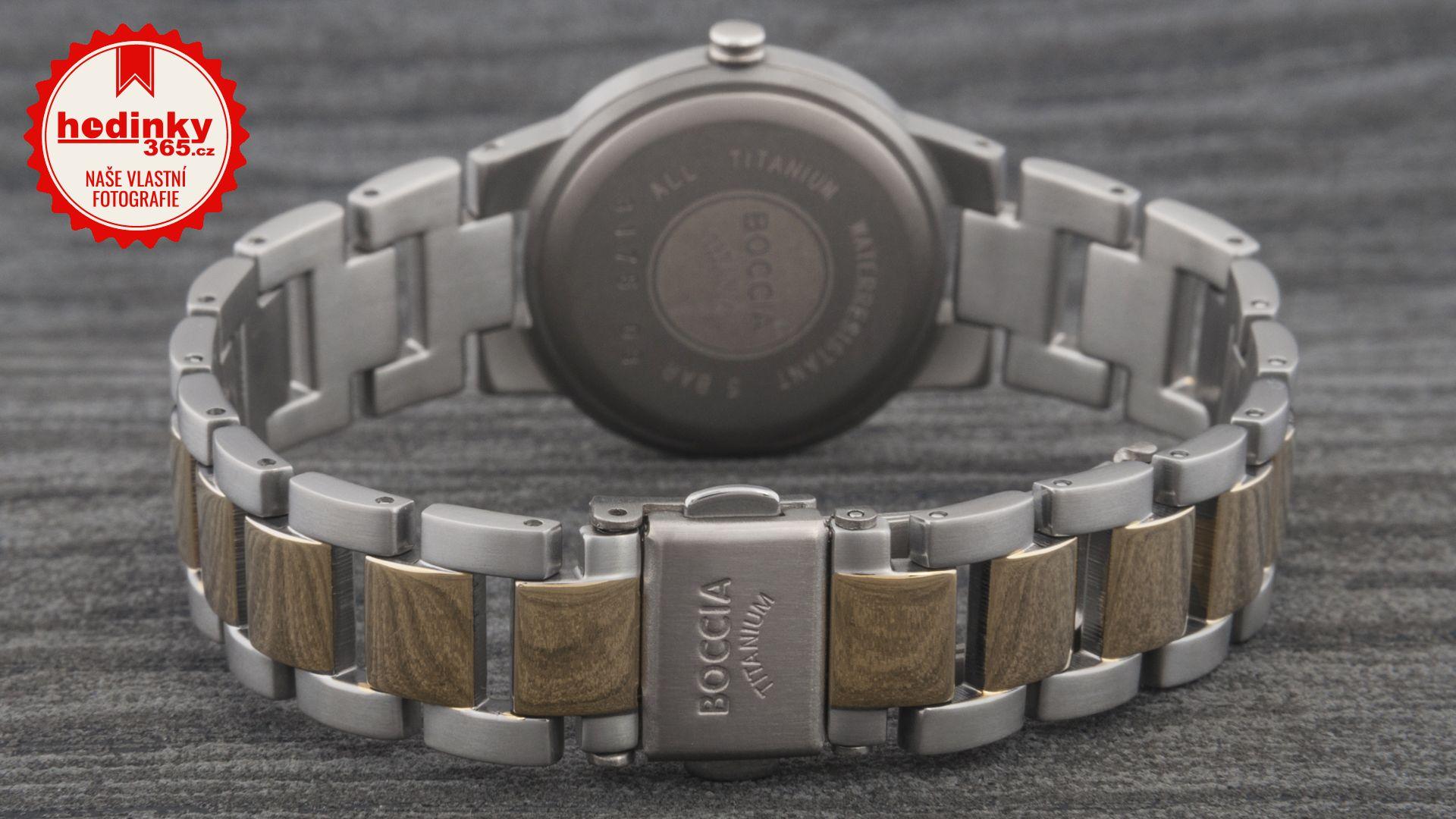 Hodinky Boccia Titanium 3175-03 dbfac3b22e