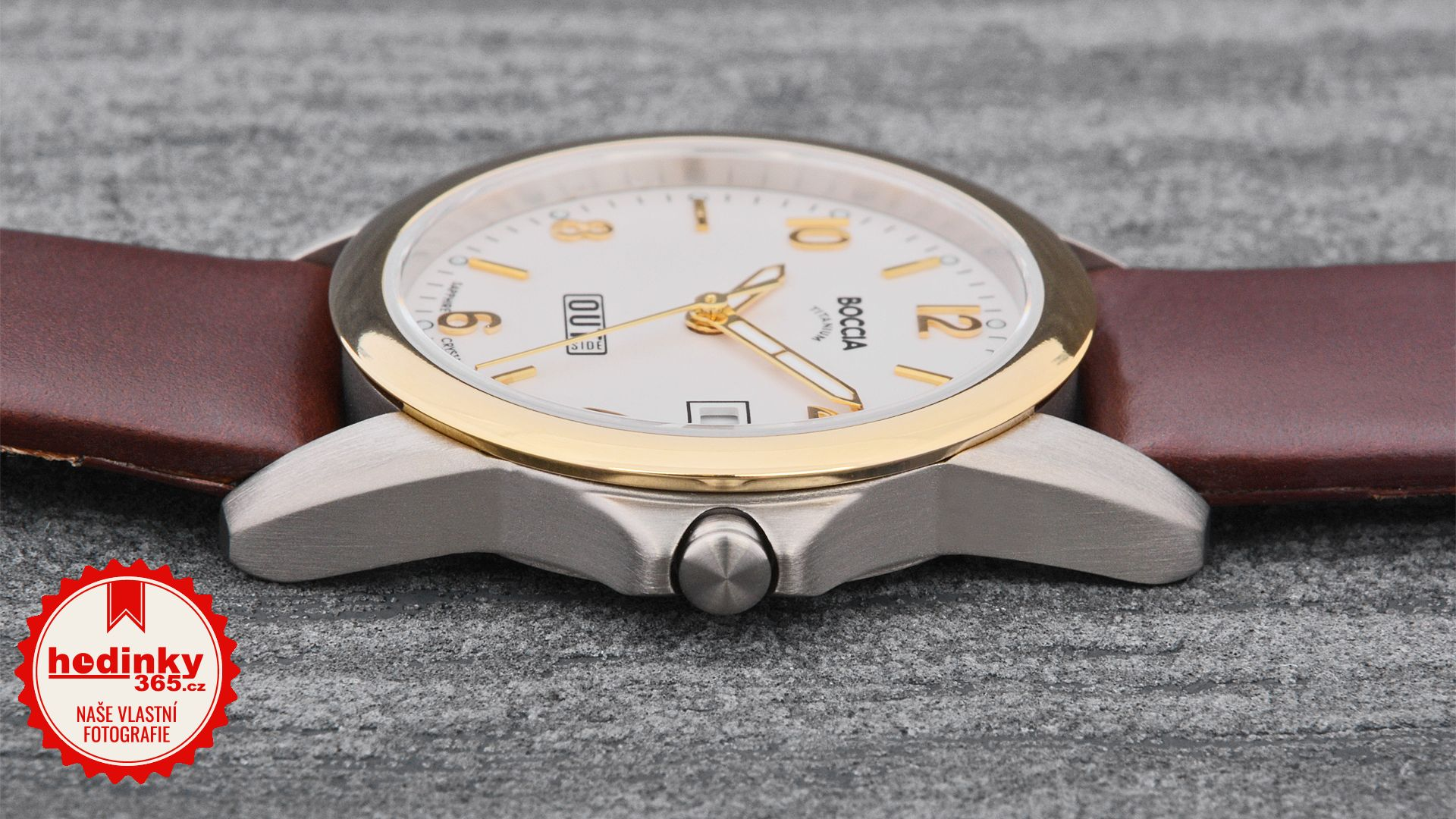Dámské hodinky - kožený řemínek 6a21d7a339c