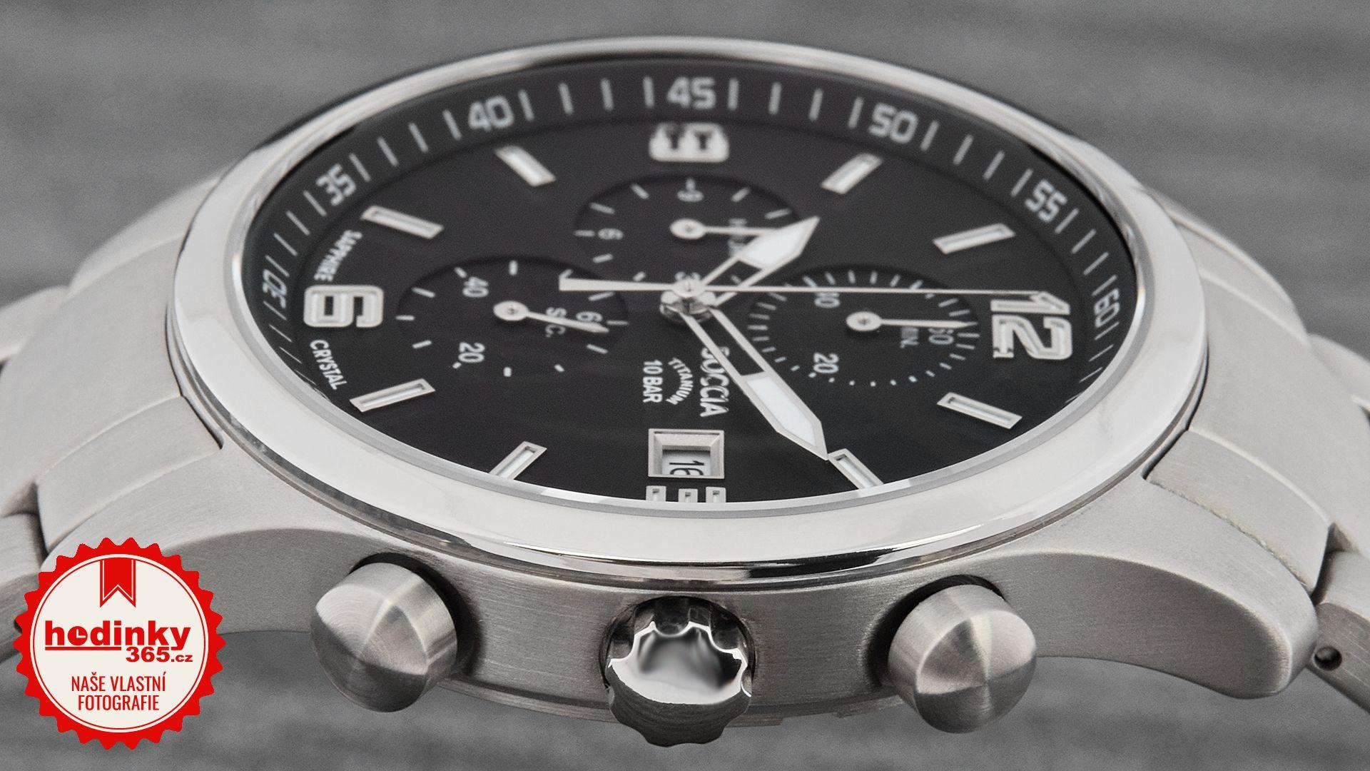 Pánské hodinky - titanový řemínek 09608adffc8