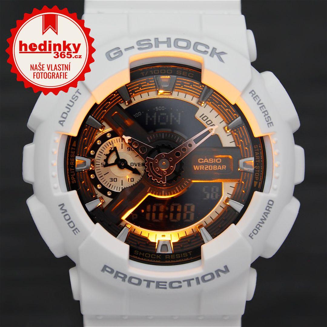 Casio G-Shock Original GA-110RG-7AER. Pánské hodinky - pryskyřicový  řemínek c1654ba964
