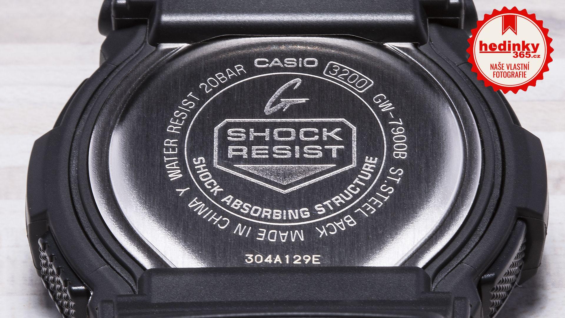 Casio G-Shock Original GW-7900B-1ER. Hodnocení  4 f84d3020cac