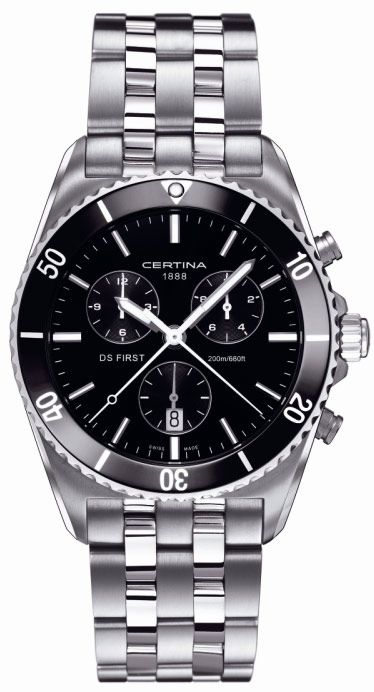 Certina DS First Gent Ceramic Chrono C014.417.11.051.00