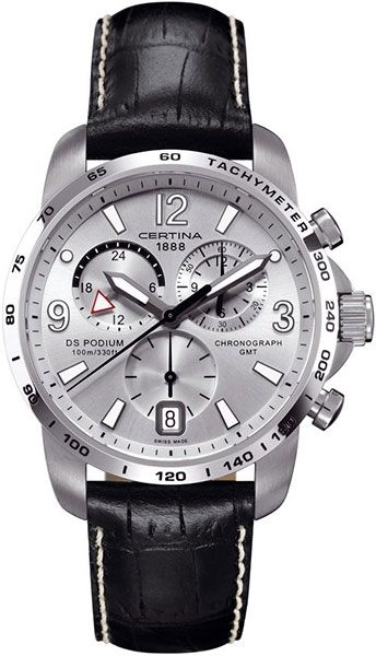 Certina DS Podium Chronograph GMT Quartz C001.639.16.037.00