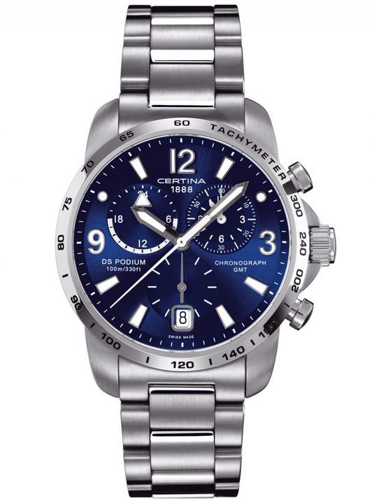 Certina DS Podium Chronograph GMT Quartz C001.639.44.047.00