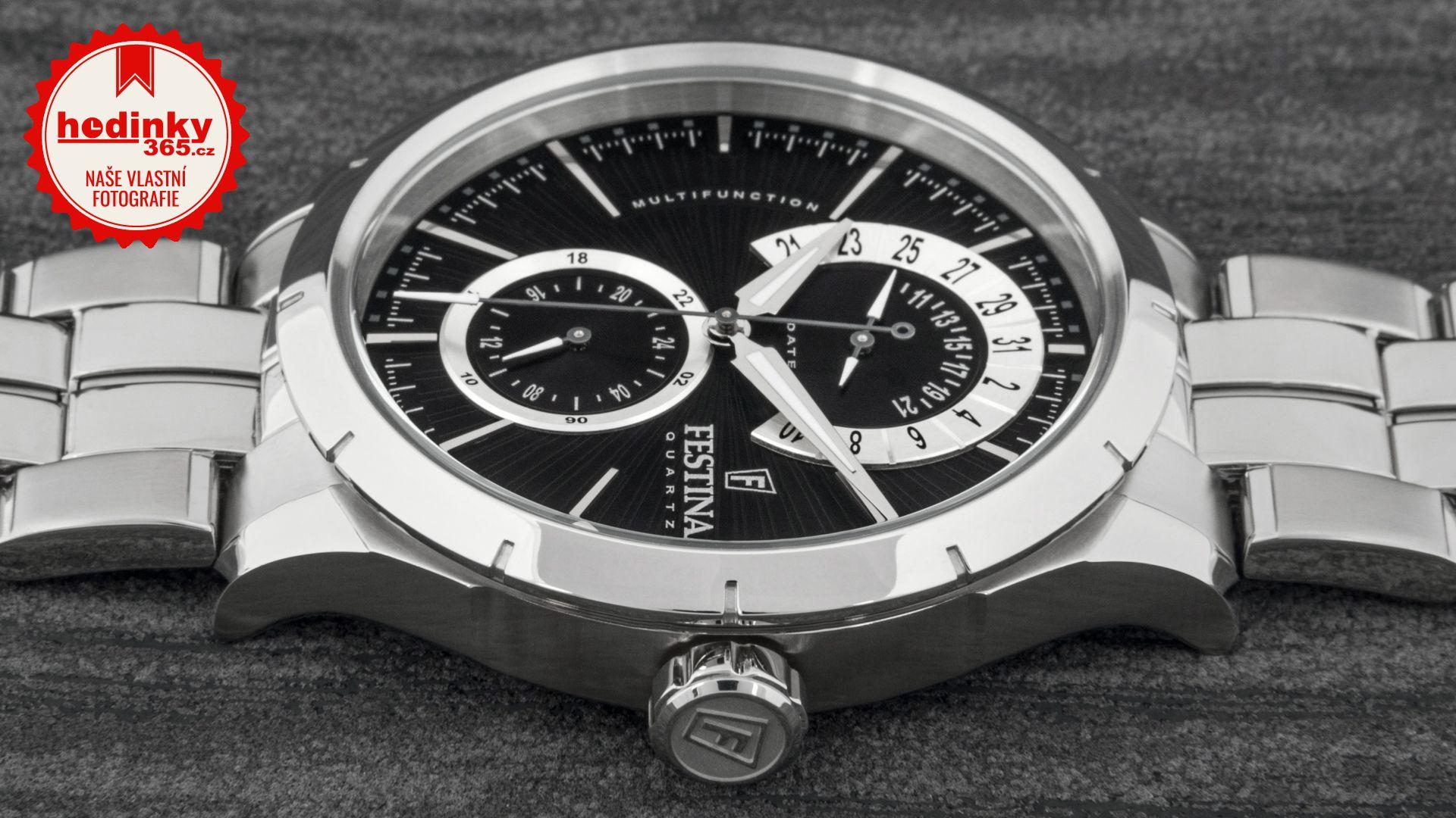 Festina Retro 16632 3. Pánské hodinky - ocelový řemínek 5175b8c127