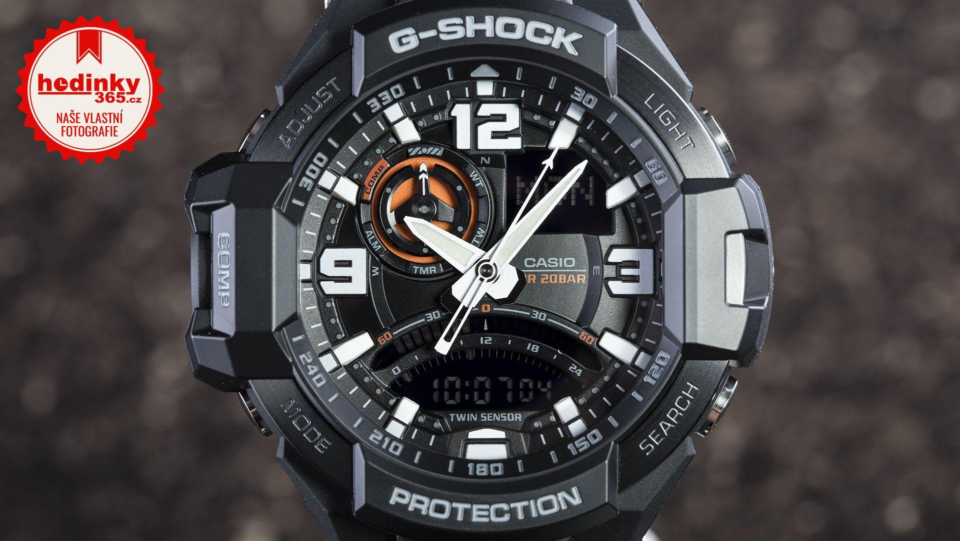 Hodinky Casio G-Shock Gravitymaster GA-1000-1AER 69611338de