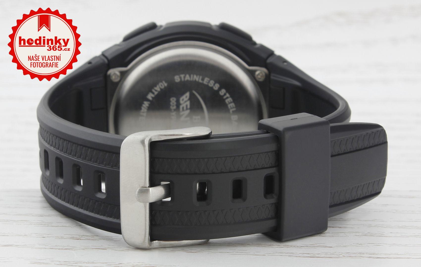 Pánské hodinky - pryžový řemínek 36f7f96b7a