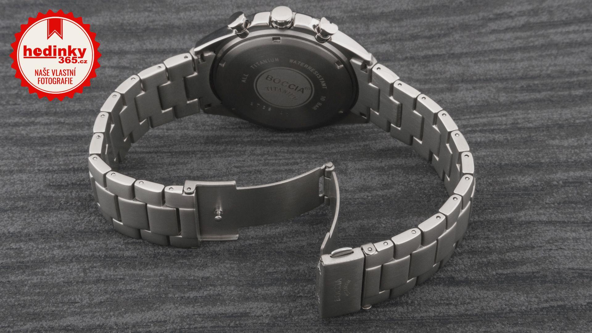 Pánské hodinky - titanový řemínek edae080c62