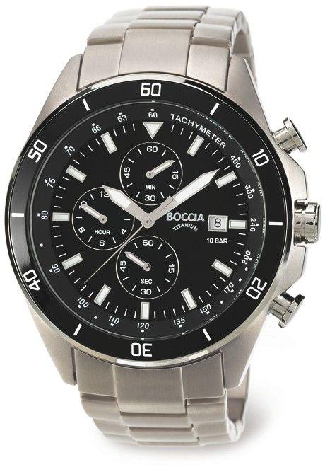Pánské hodinky - titanový řemínek 7866099471