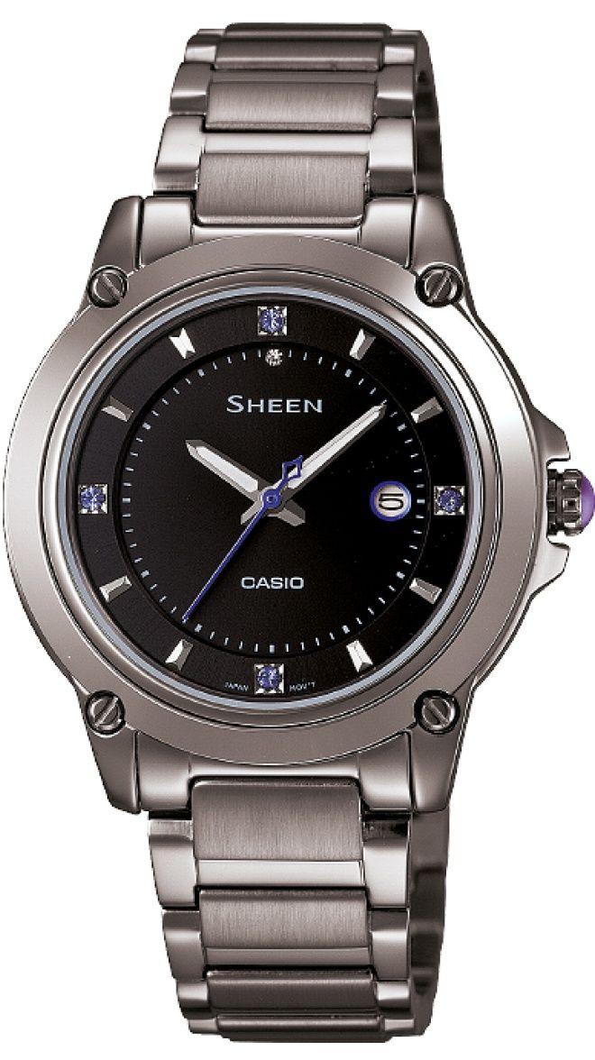 casio sheen she 4507bd 1aer hodinky. Black Bedroom Furniture Sets. Home Design Ideas