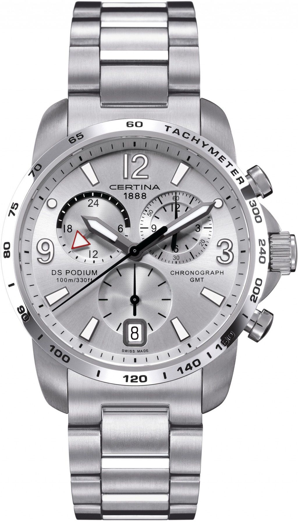 Certina DS Podium Chronograph GMT Quartz C001.639.11.037.00