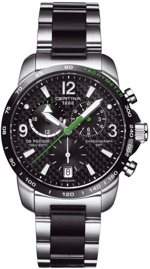 Certina DS Podium Chronograph GMT Quartz C001.639.22.207.02