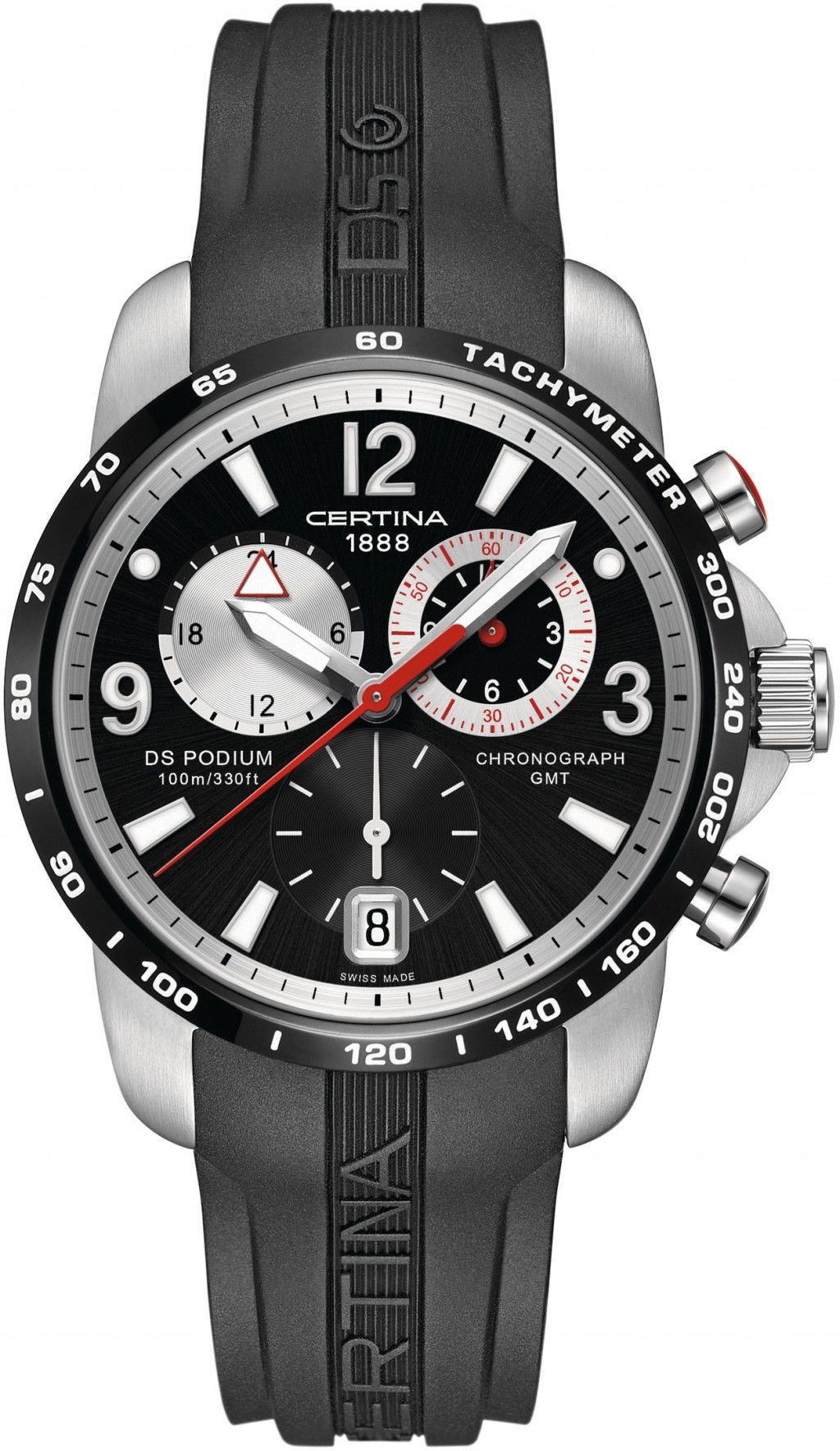 Certina DS Podium Chronograph GMT Quartz C001.639.27.057.00