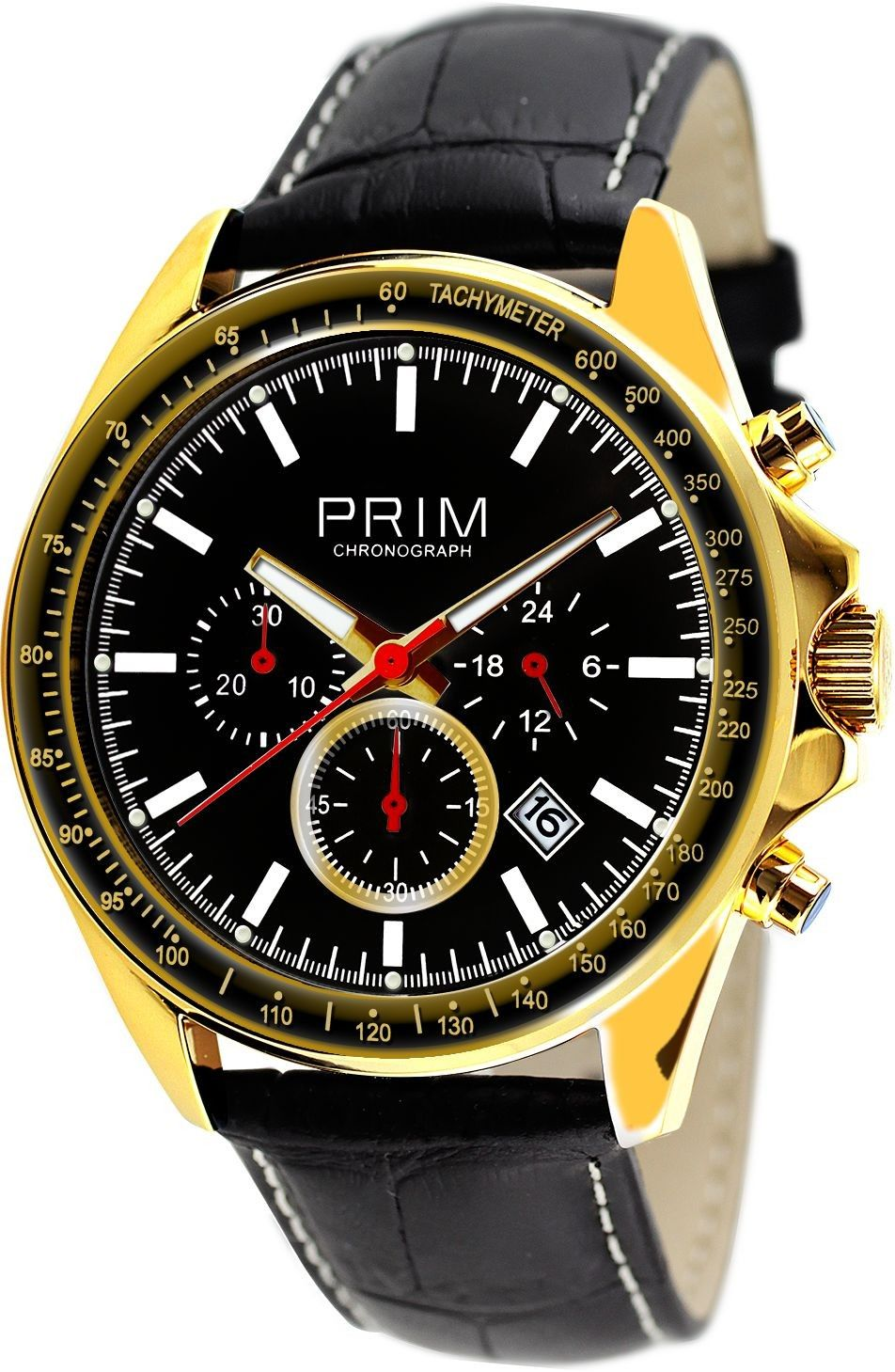 Pánské hodinky - kožený řemínek 35f2fc2e953