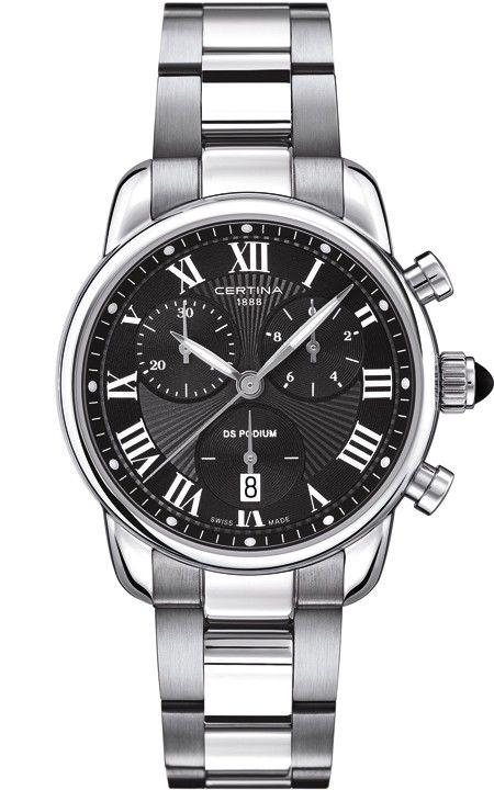 Certina DS Podium Lady Quartz C025.217.11.058.00. Dámské hodinky - ocelový  řemínek 80b150cd823