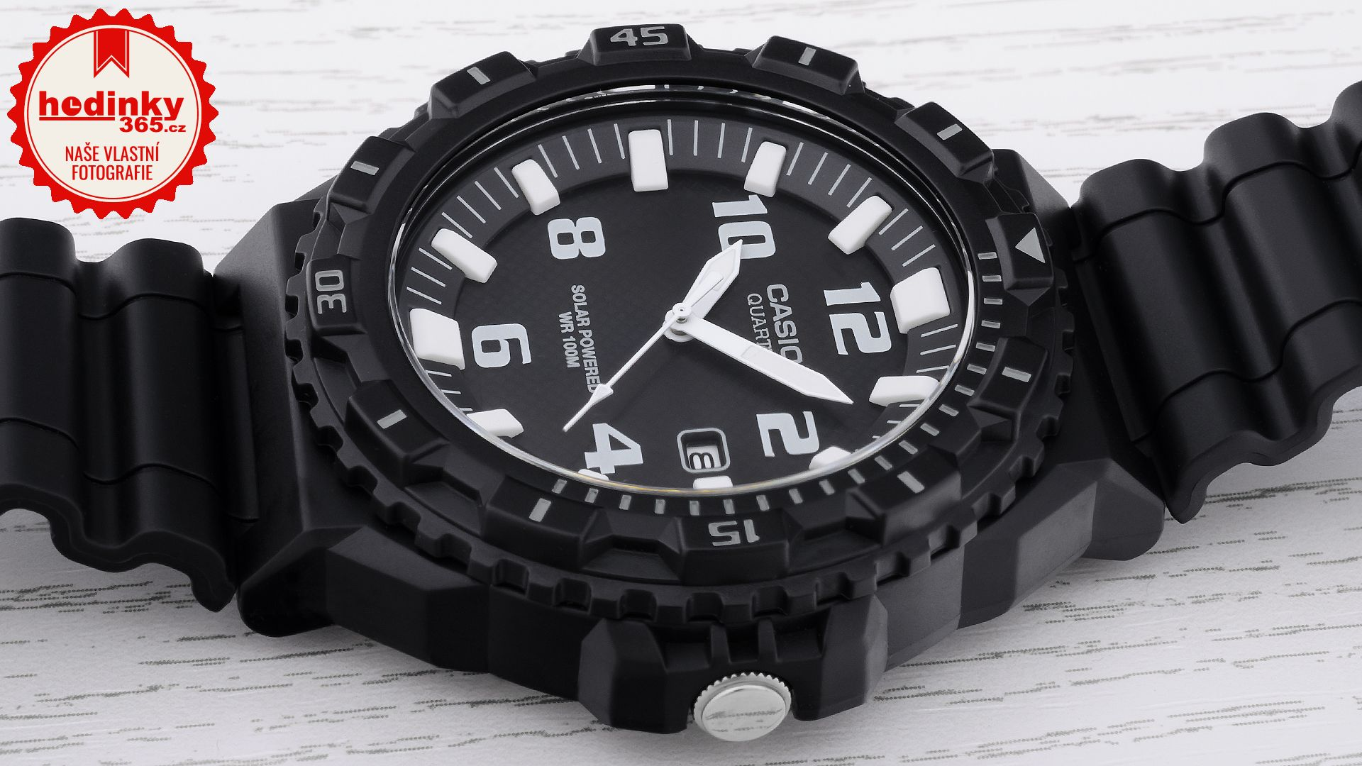 fb2c18d3e91 Casio Collection MRW-S300H-1BVEF. Pánské hodinky - pryskyřicový řemínek