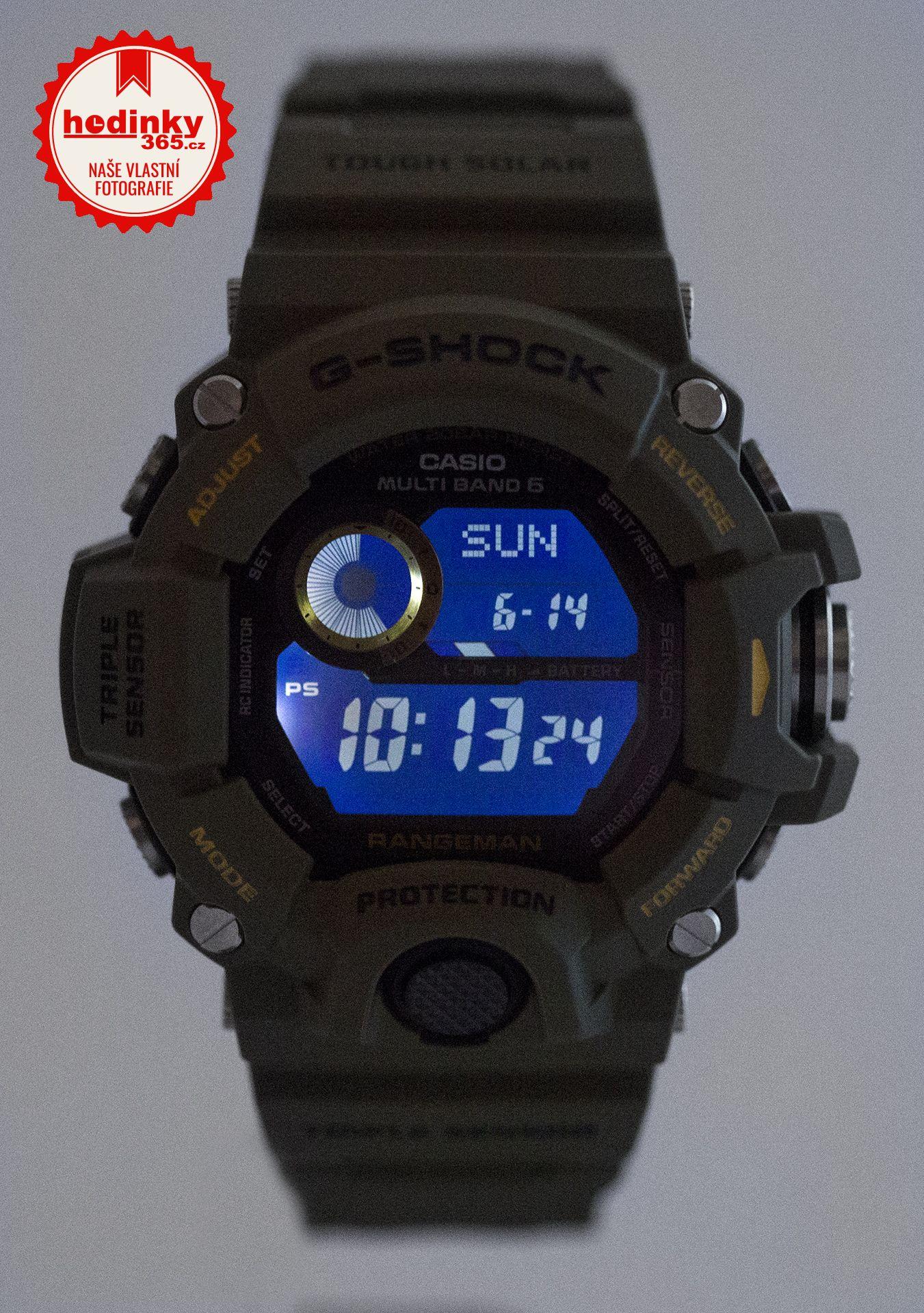 996c6bef536 Casio G-Shock Rangeman GW-9400-3ER. Hodnocení  5