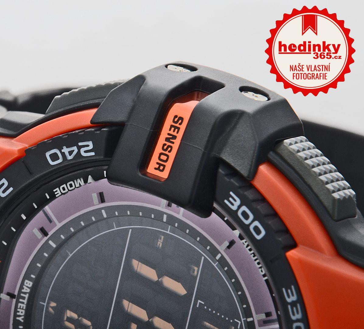 Casio Protrek PRG-270-4ER. Pánské hodinky - pryskyřicový řemínek bb8d230008