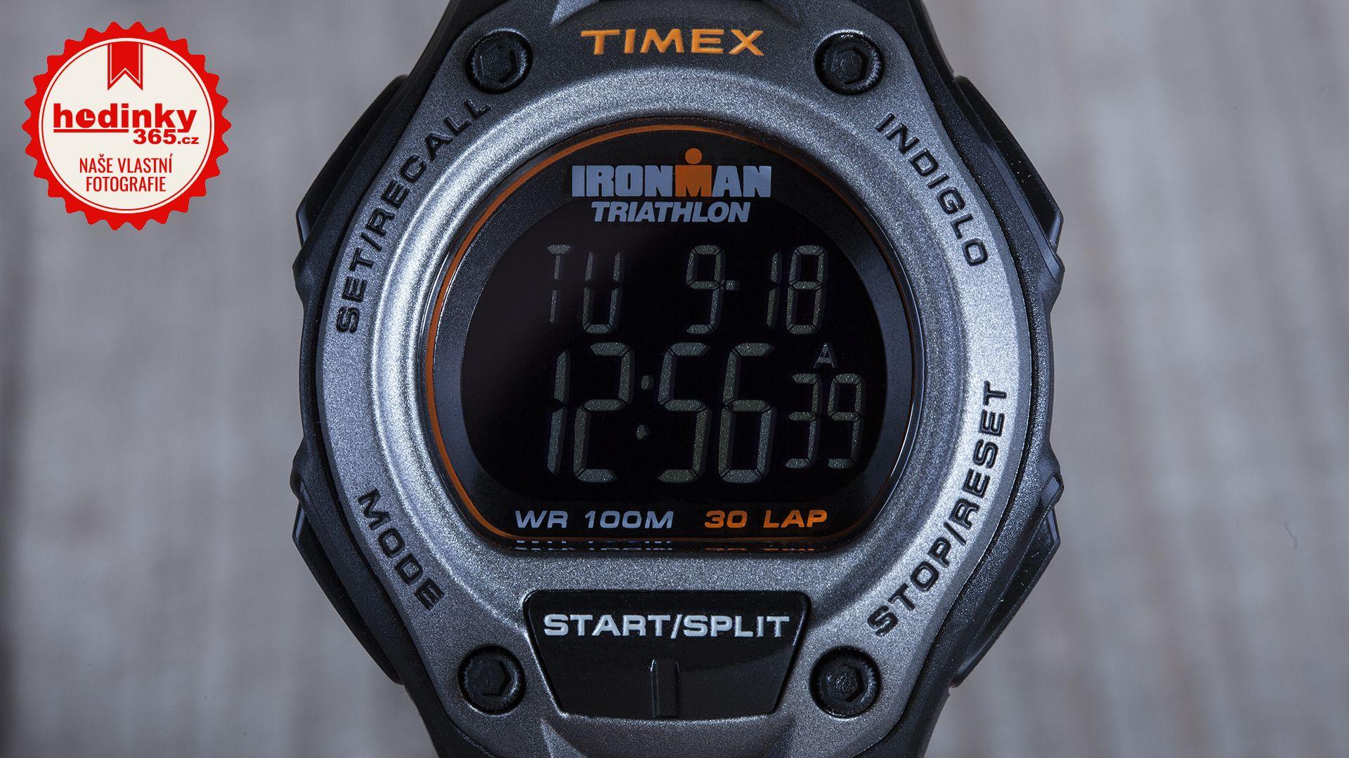 6649b9b5a Timex Ironman T5K758. Pánské hodinky - pryžový řemínek, plast pouzdro,  plastové sklíčko. Veškeré technické parametry naleznete níže