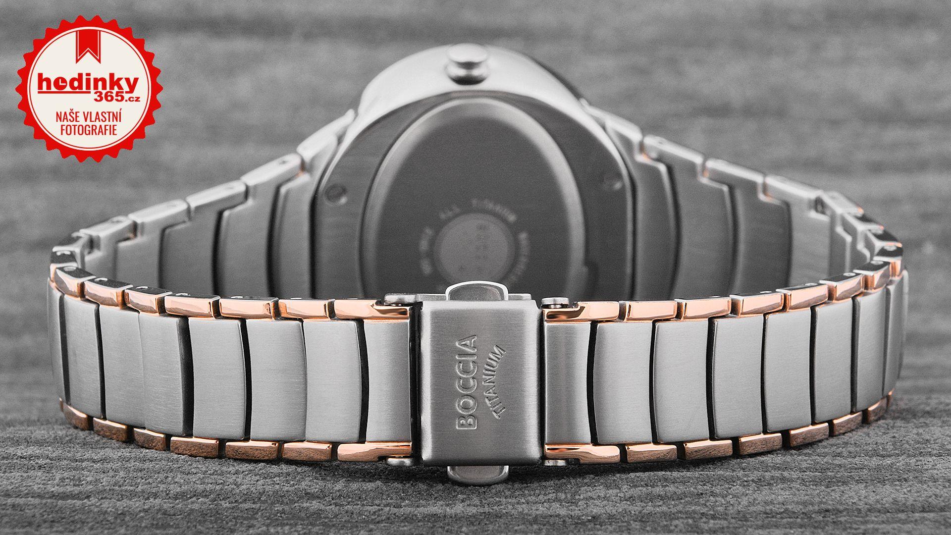 Dámské hodinky - titanový řemínek 984435020c