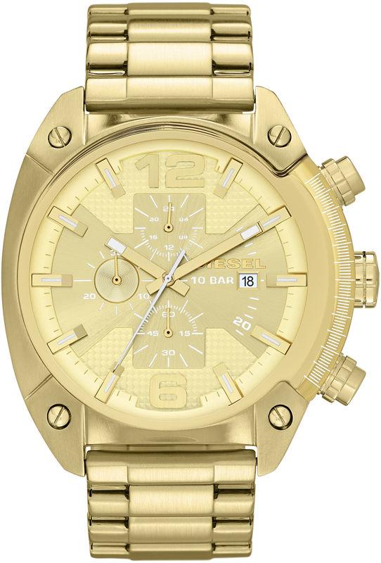 5e39c7853 Diesel Overflow DZ 4299. Pánské hodinky - ocelový řemínek, ocel pouzdro,  minerální sklíčko. Veškeré technické parametry naleznete níže