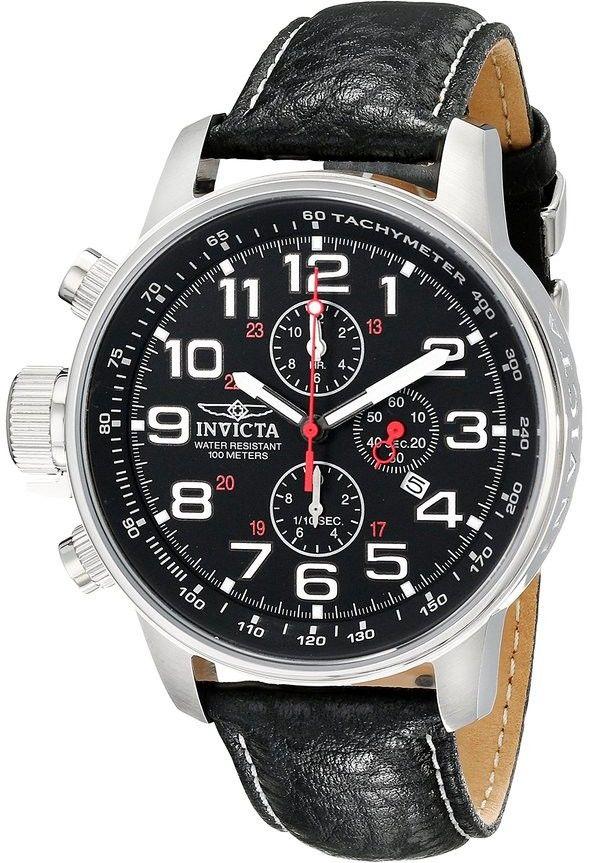 Invicta Force Lefty 2770. Pánské hodinky - kožený řemínek fb5c1f7d5c