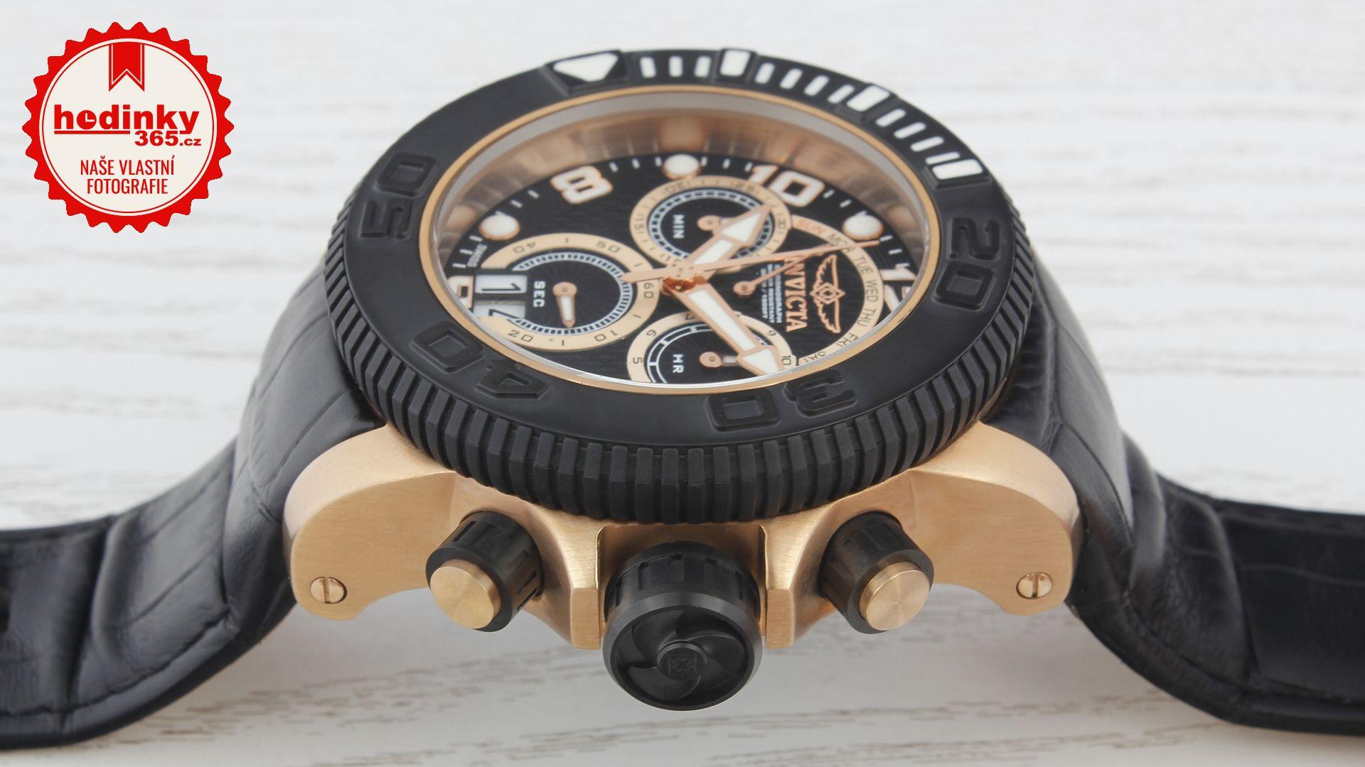 Invicta Sea Hunter 11168. Pánské hodinky - kožený řemínek 5f76e7d64c