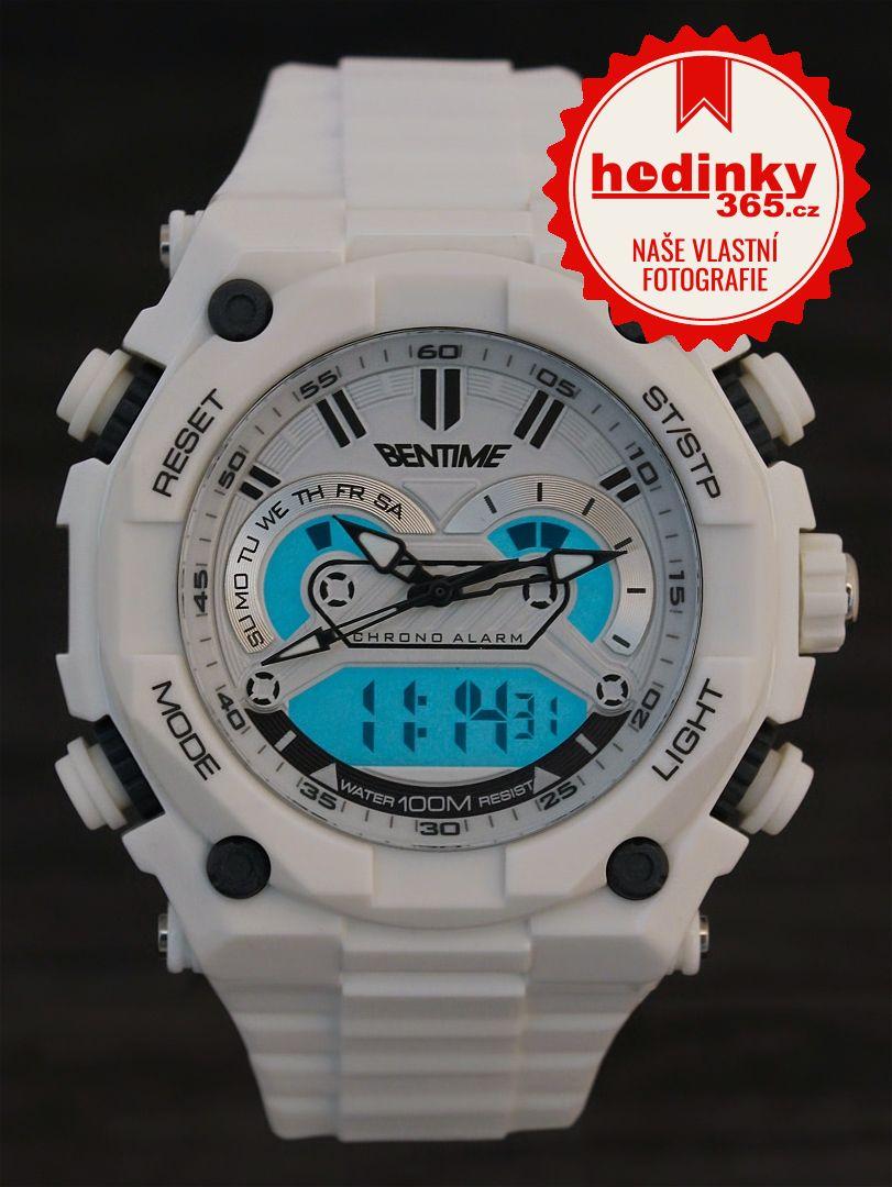Pánské hodinky - pryžový řemínek 00fe7af8597