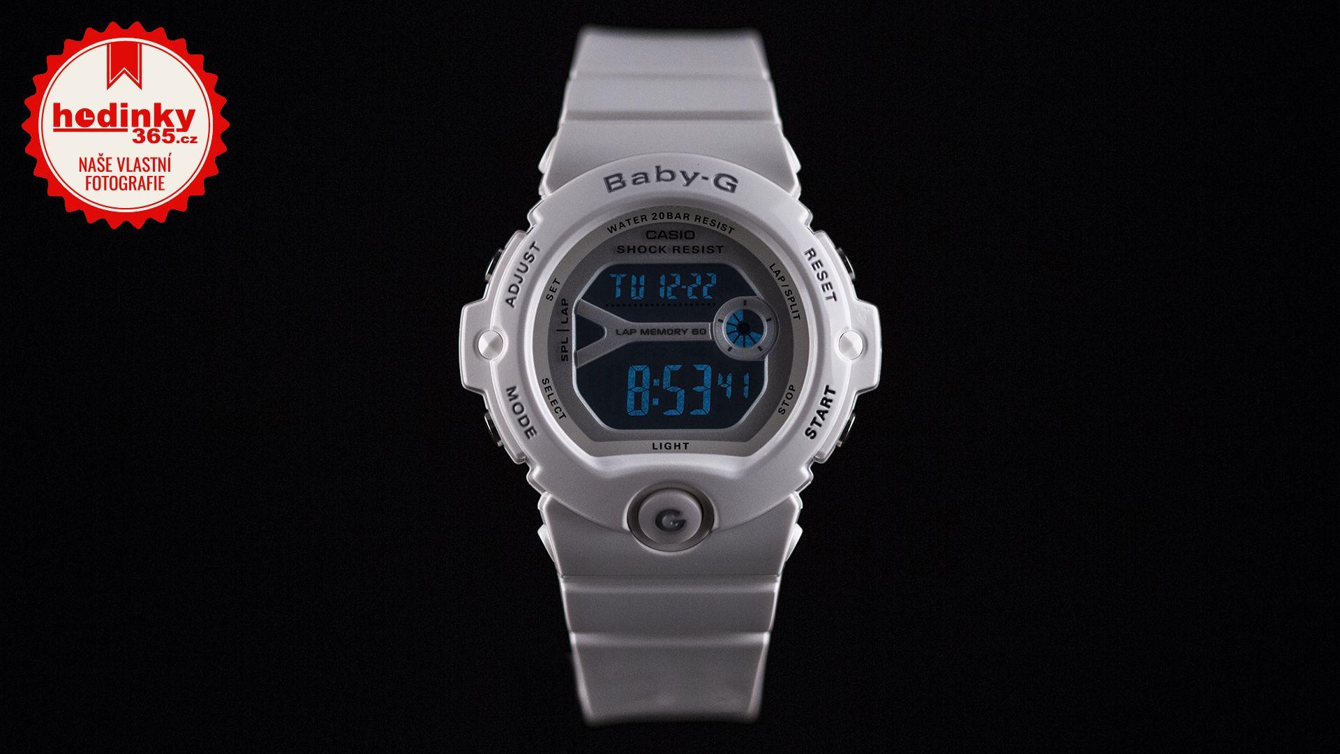 63daad42a20 Casio Baby-G BG-6903-7BER. Dámské hodinky - pryskyřicový řemínek