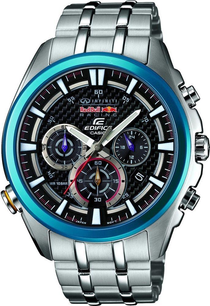Casio Edifice EFR-537RB-1A Infiniti Red Bull Racing Limited Edition. Pánské  hodinky - ocelový řemínek 54e78b53f6