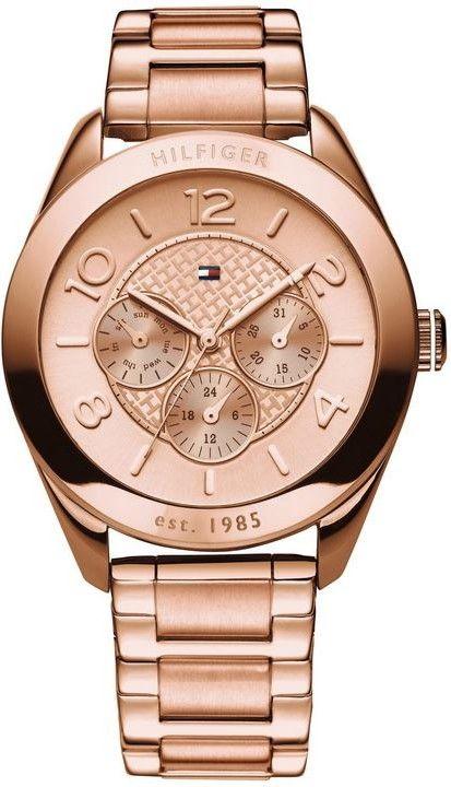 02065458b Tommy Hilfiger 1781204. Dámské hodinky - ocelový řemínek, ocel pouzdro,  minerální sklíčko. Veškeré technické parametry naleznete níže