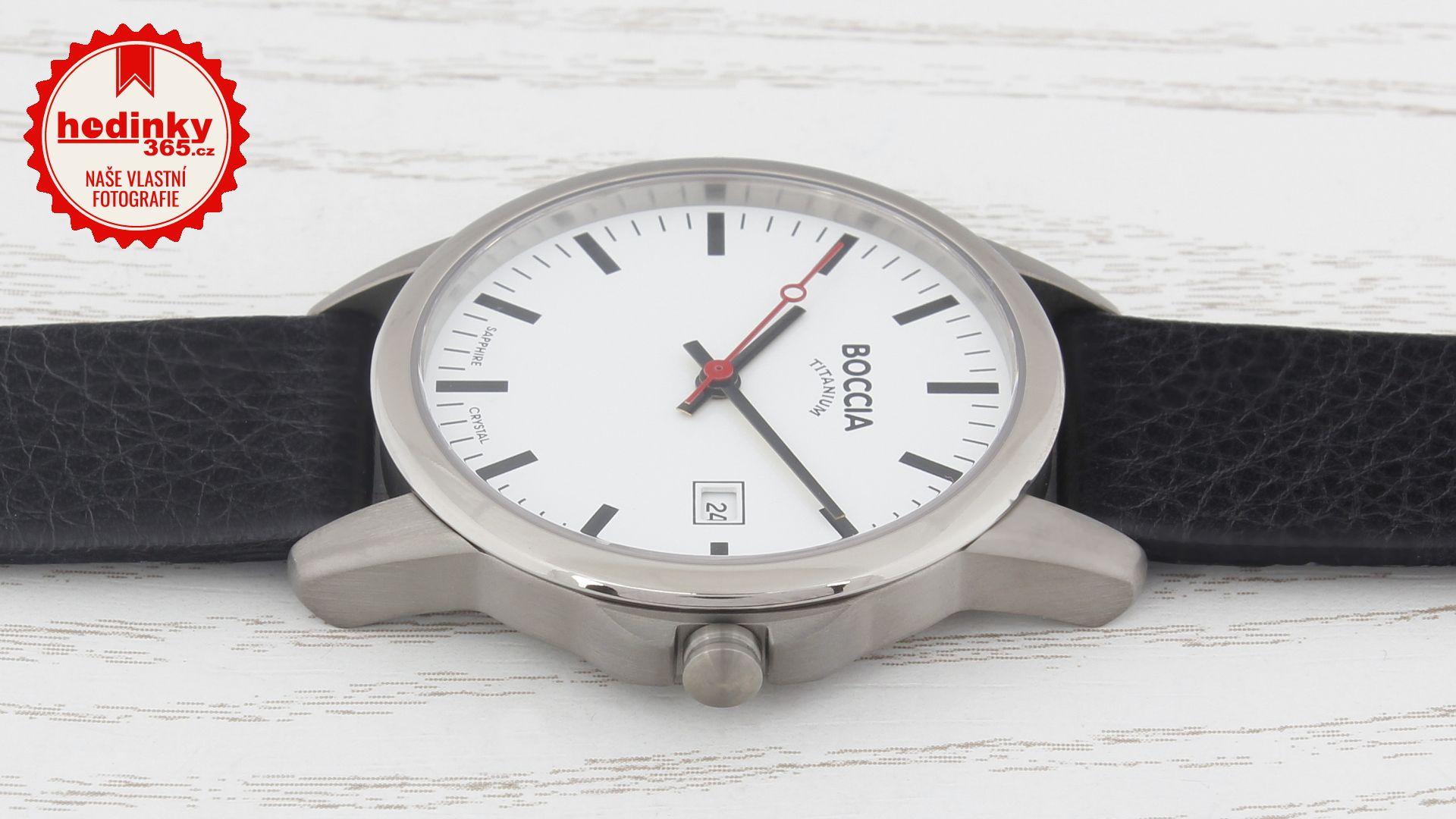 Pánské hodinky - kožený řemínek 9ab44e7bb52