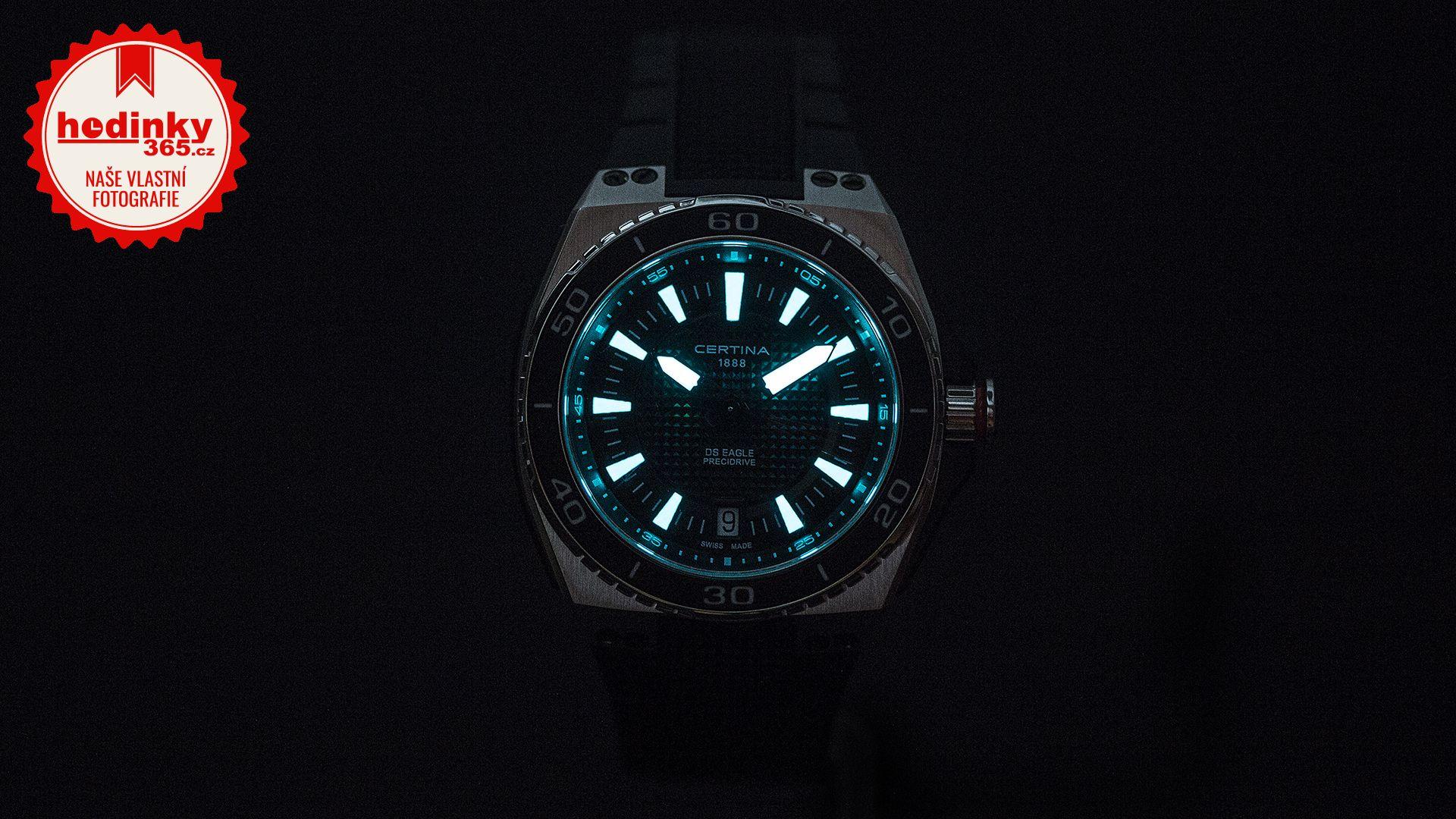 2123829d8 Certina DS Eagle Quartz C023.710.27.051.00. Pánské hodinky - plastový  řemínek, ocel pouzdro, safírové sklíčko. Veškeré technické parametry  naleznete níže