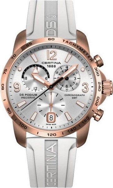Certina DS Podium Chronograph GMT Aluminium Quartz C001.639.97.037.01