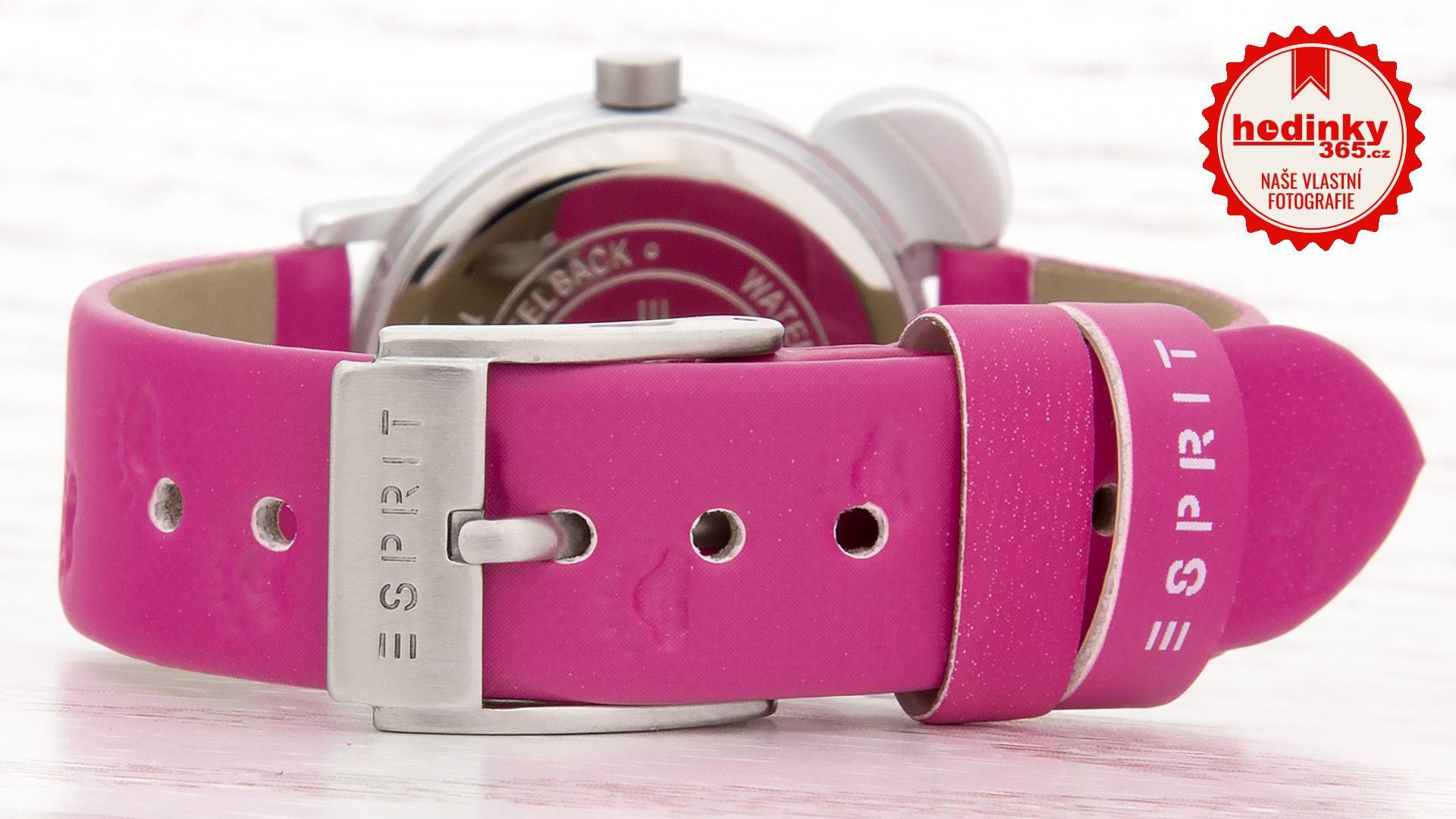 Esprit TP10762 Cat Pink ES107624004 s motivem medvídka + gumičky do vlasů