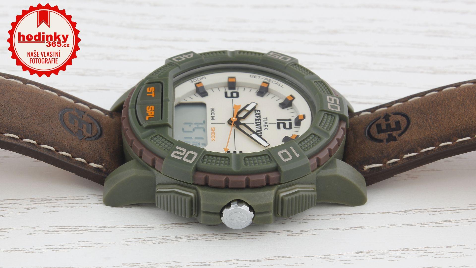 Timex Expedition T49969. Pánské hodinky - kožený řemínek 94f8593f98c