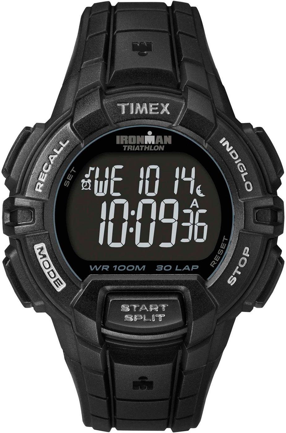 165aa4e86 Timex Ironman T5K793. Pánské hodinky - plastový řemínek, plast pouzdro,  plastové sklíčko. Veškeré technické parametry naleznete níže