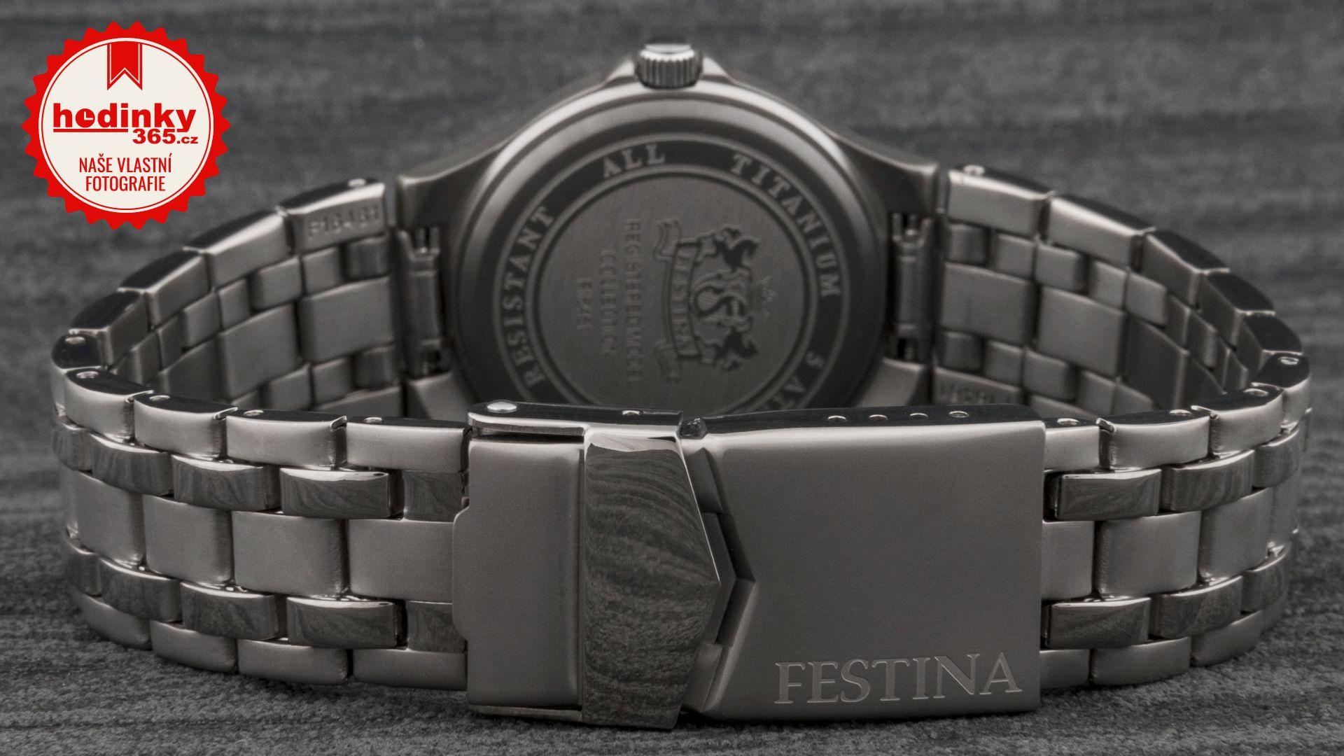 Dámské hodinky - titanový řemínek 098f0d9b60f